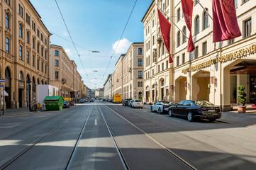 Maximilianstraße in München - Deutschland Fototapete