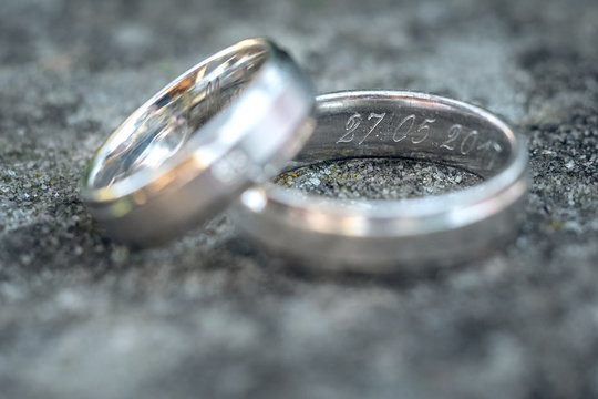 Wedding Ring symbol of love and human relationships commitment