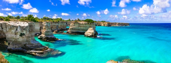 Wonderful sea scenery in Puglia.