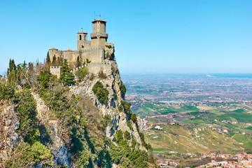 Fortress Guaita in San Marino Wall mural