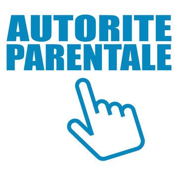 Logo autorité parentale.