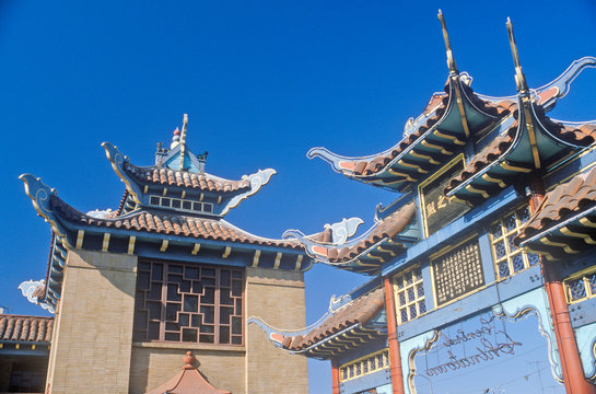 Chinatown in Los Angeles, California