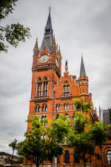 St. Pancras train station, London