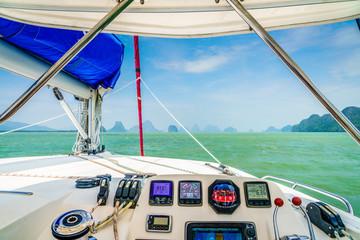 Sailing in Andaman Sea