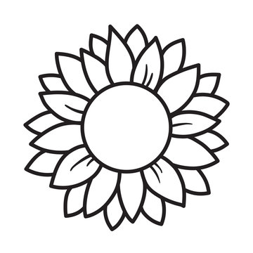 Sunflower Outline Stock Photos And Royalty Free Images Vectors And Illustrations Adobe Stock The behavior is also known. sunflower outline stock photos and