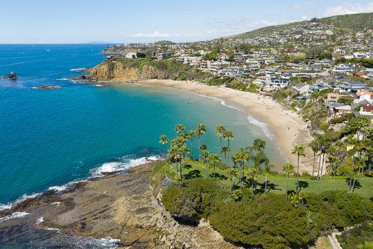 Laguna Beach Aerial Orange County