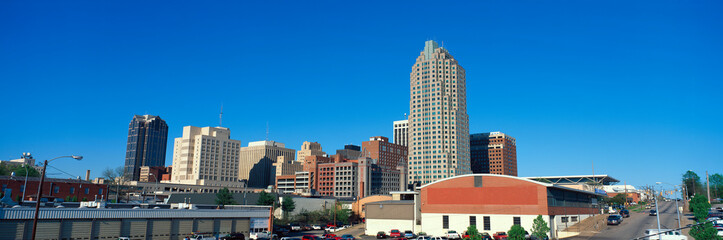 Fototapete - Panoramic view of Memphis Tennessee skyline
