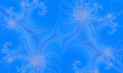 Canvas Prints Fractal waves fractal, waves, background