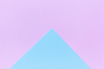 Blue and pink pastel color paper background