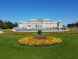 Fond de hotte en verre imprimé Vienne Schloss Belvedere, Wien