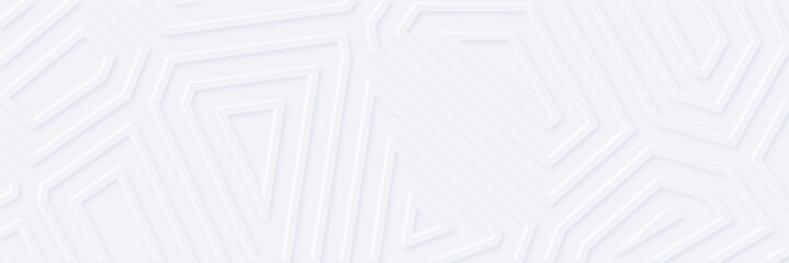 White silver geometric universal background for business presentation . Abstract elegant seamless pattern. Minimalist empty triangular BG. Halftone monochrome cover. Modern digital minimal color 2020