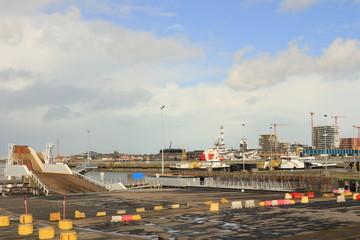 Hafen in Ostende