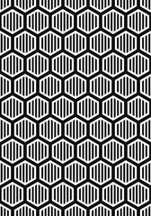 vector modern white multi honeycomb hexagon geometric on black background for brochure banner and publication
