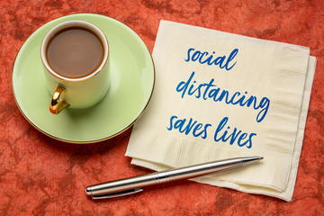 Papiers peints Londres social distancing saves lives reminder