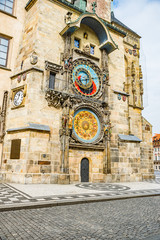 Wall Murals Prague Prague, Czech republic - March 19, 2020. Old Town Square without tourists during coronavirus crisis