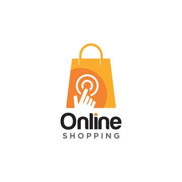 Shopping Logo Icon Design Vector