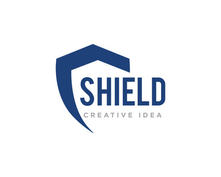 Shield Protection Logo Icon Design Vector