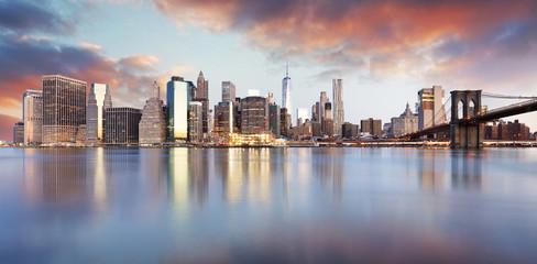Wall Mural - New York City skyline, USA