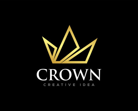 Crown Logo Icon Design Vector