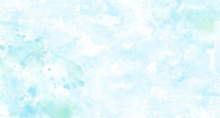 水のイメージ背景、水彩テクスチャ Wall mural