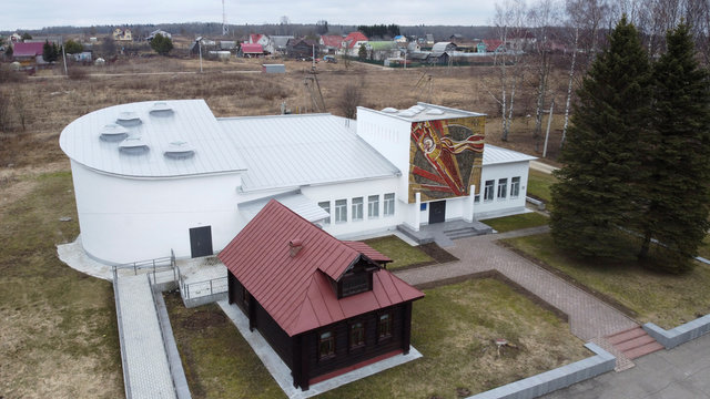 A view shows a museum of Soviet cosmonaut and first woman in space Tereshkova in Tutayev