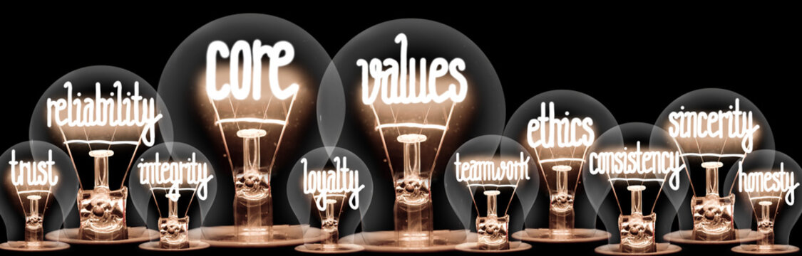 Light Bulbs with Event Management Concept