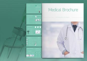 Teal Medical Brochure Layout