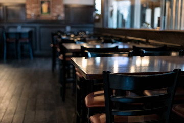Crisis: Restaurant Sits Empty During Virus Scare