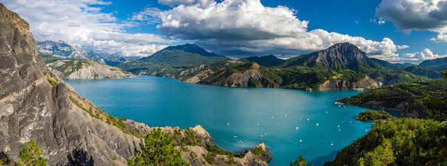 Lac de Serre-ponçon Fotomurales