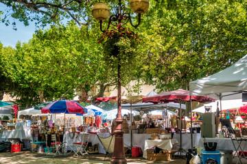 Markttag in Bédoin in der Provence
