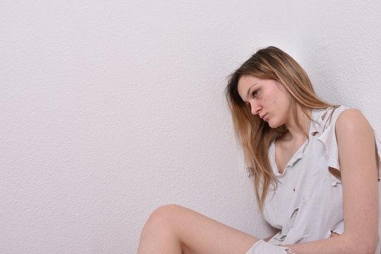 Femme droguée et abusée