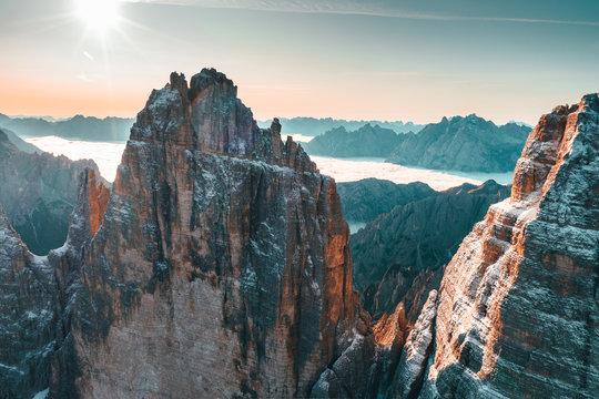 Three peaks dolomites, italy