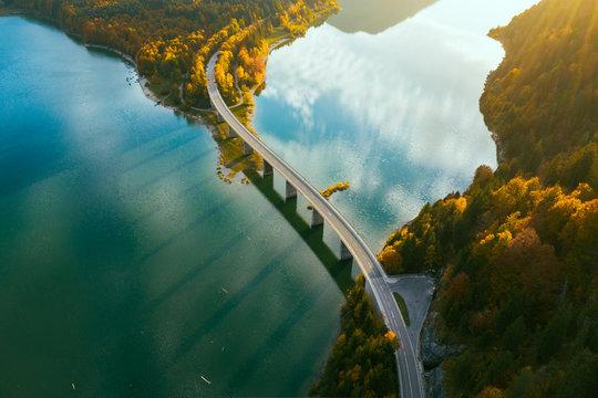 Sylvenstein bridge