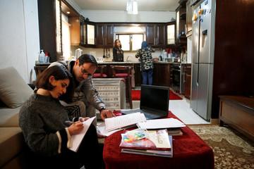 Online education following coronavirus lockdown in Amman