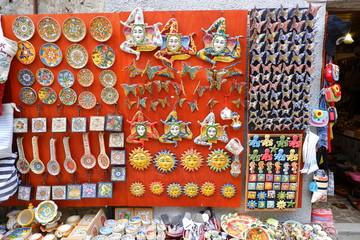 シチリアの土産物屋 Fototapete