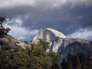 Half Dome at early evening, Yosemite Valley, California, USA