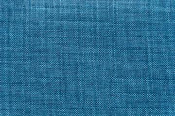 Bright blue mottled denim fabric rough textile fabric