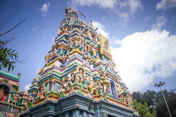 Wall Murals Place of worship temple in India, madurai