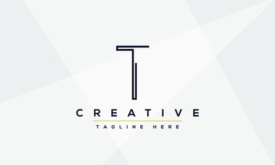 Modern creative T Logo Design and template. T TT icon initials based Monogram and Letters in vector.