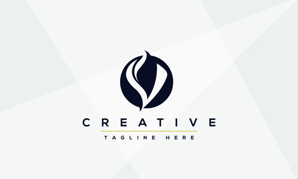 Modern creative V Logo Design and template. V VV icon initials based Monogram and Letters in vector.