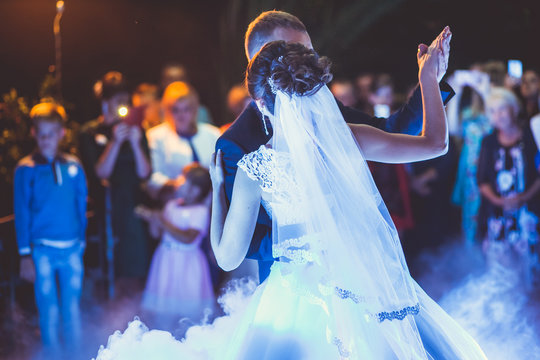 first bridal dance at the wedding