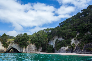Printed roller blinds Cathedral Cove Cathedral Cove from Boat