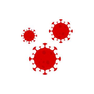 novel coronavirus. covid-19 dangeriuos vector illustration