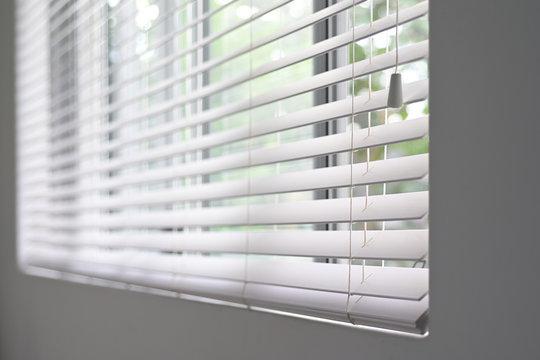 Aluminum venetian window blinds