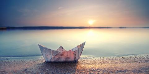 Photo sur cadre textile La Mer du Nord entspannte Ferien verbringen