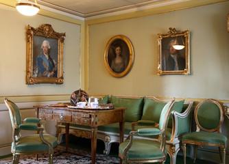 MORA. SWEDEN. 16 APRIL 2008 : Anders Zorn museum in Mora. Dalarna county. Sweden