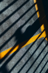 Shadow details on deck