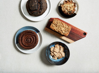 Baked goods assortment