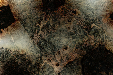 Abstract stone scene