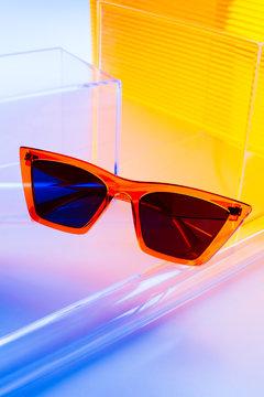 Sunglasses still life.